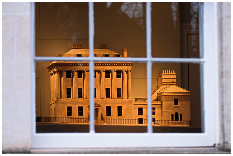 Model of Number 1 Royal Crescent inside Number 1 Royal Crescent