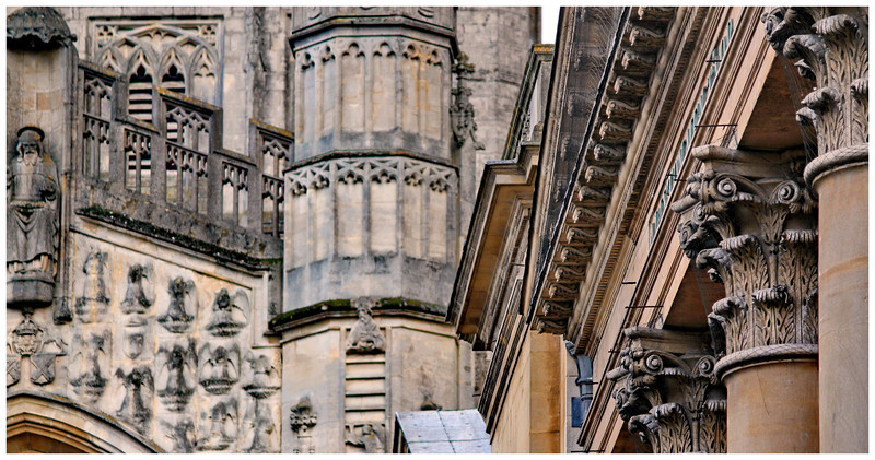 Roman Baths and Abbey Details