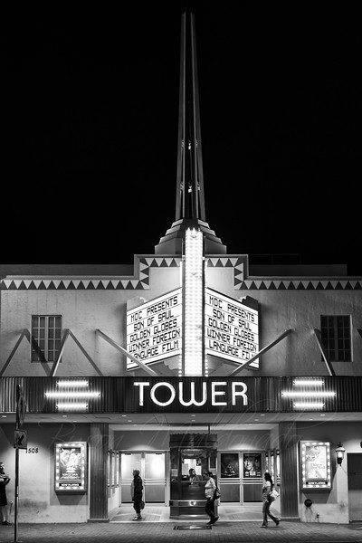 Tower, movie theater Calle 8