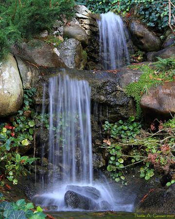 Waterfall at Hakone Gardens, Saratoga, CA