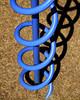 Blue screw