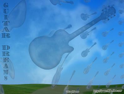 Guitar sky