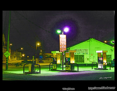 Late night gas