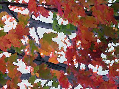 Artistic: Paint Daubs