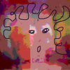 alter ego<br /> A manipulated photo pf one of my abstract paintings on paper. I think this is a pretty good representation of me, at least one aspect of me.