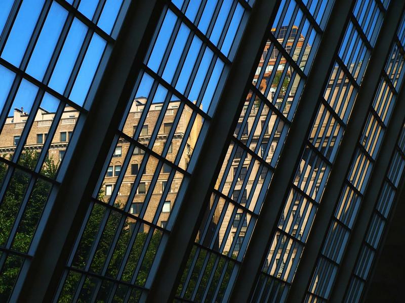 Dendur Temple Windows