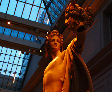 Statue in Greek and Roman Galleries