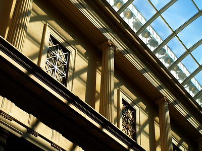 Roof and Shadows in Gallery