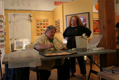 IMG_3045.JPG 1st Thursday Art Night watercolor demo with Cal and Emmy
