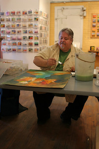 IMG_2989.JPG 1st Thursday Art Night watercolor demo with Cal and Emmy