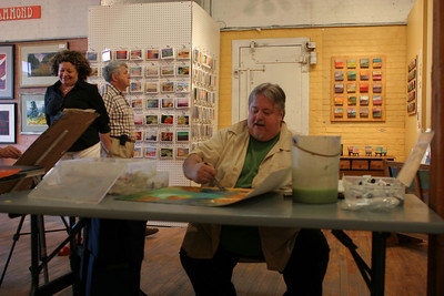 IMG_2985.JPG 1st Thursday Art Night watercolor demo with Cal and Emmy