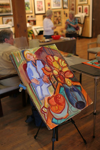 IMG_3005.JPG 1st Thursday Art Night watercolor demo with Cal and Emmy