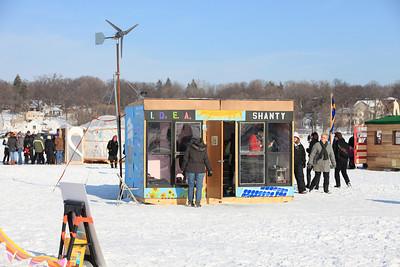 Art Shanty Project 2010 Medicine Lake, MN