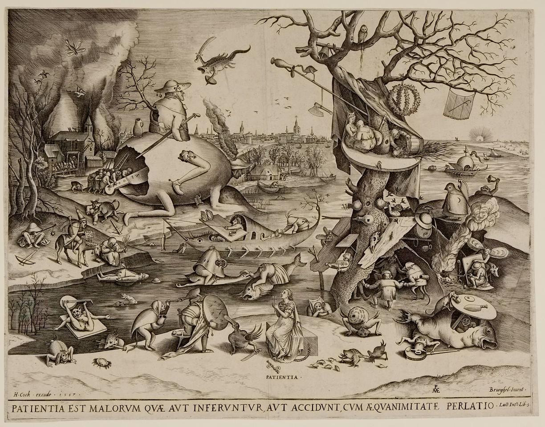 Patience  Pieter van der Heyden, Netherlandish  After Breugel
