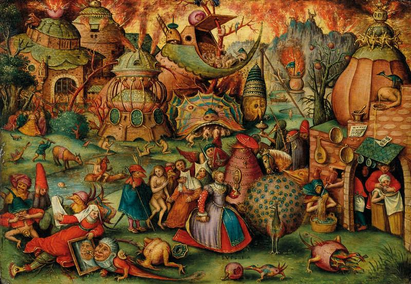 follower Pieter Bruegel allegory pride