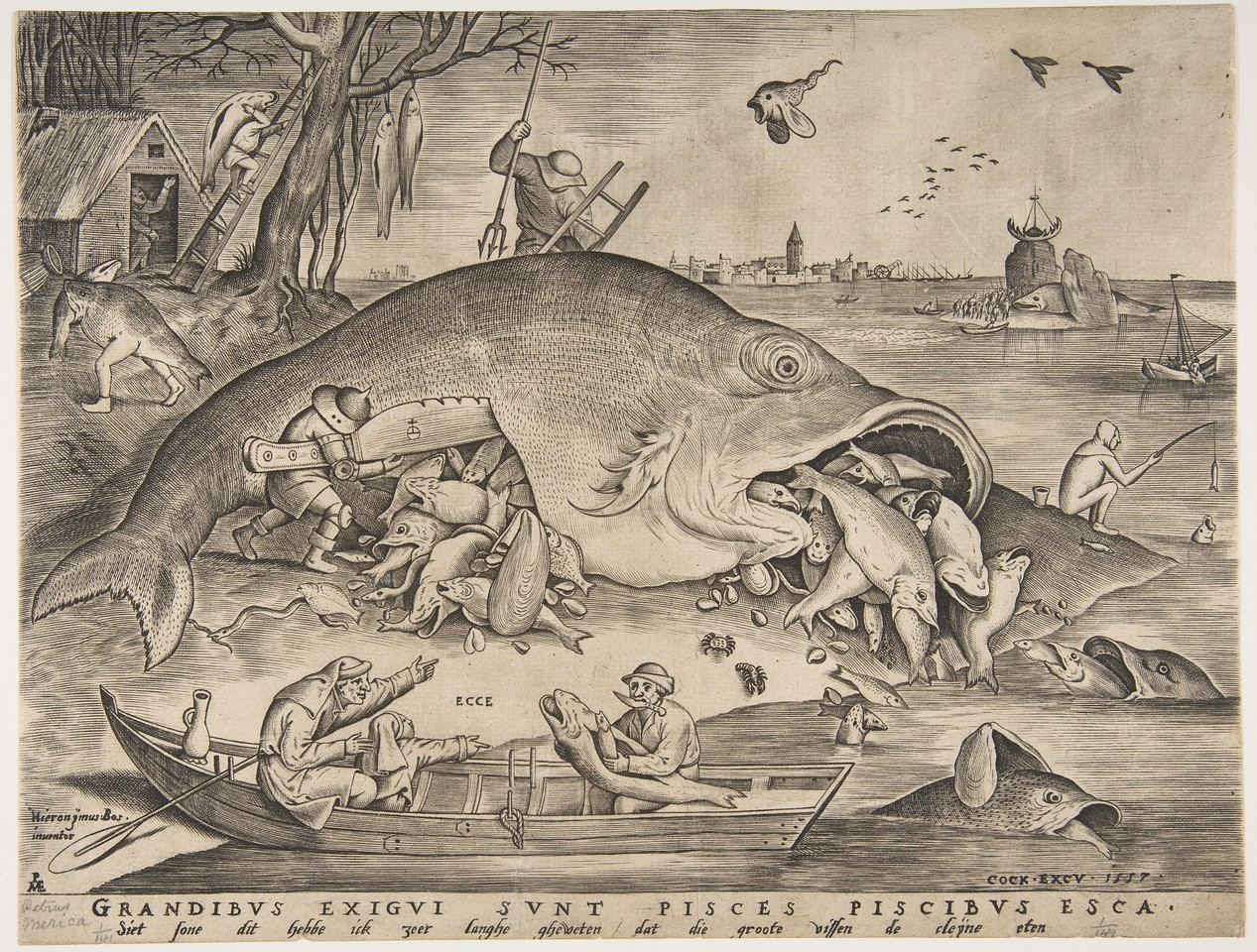 Big Fish Eat Little Fish (1557)