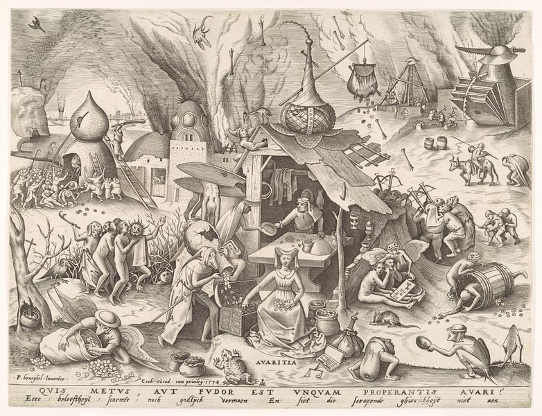 Avaritia (Greed) 1558