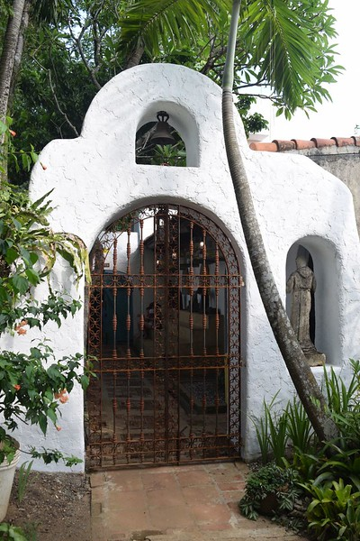 Gate and courtyard in Pinto Art Museum, Antipolo