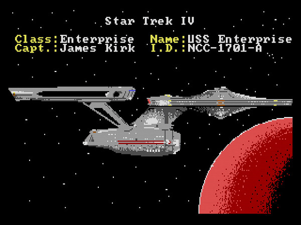 "Star Trek IV: Enterprise ""A"""