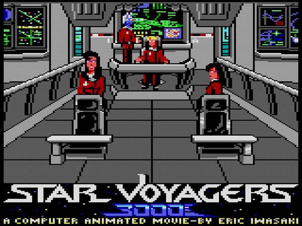 The Computer Works - Star Voyagers 3000