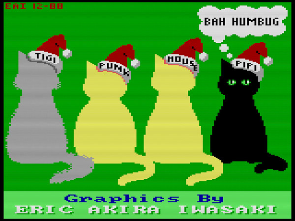 The Computer Works - Christmas Cats