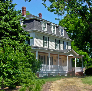 William Meveral Loker's Home, Leonardtown Maryland