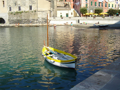 Vernazza Sailboat 2