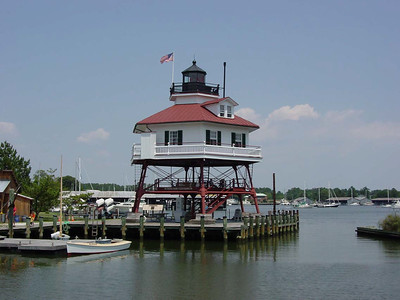 Solomons Island Maryland - Drum Point Lighthouse