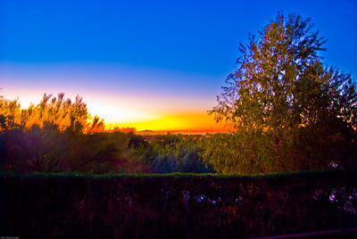 Phoenix Sunrise - Taken at the Phoenician Hotel 5:30AM  Nikon D80