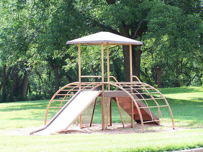 Williams Park Iron Playground