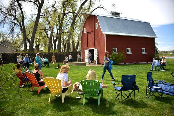 Plein Air Art and Auction at Osborn Farm - 05/04/2014
