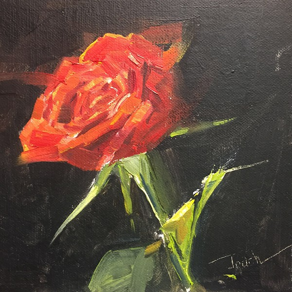 Oil On Board, 6X6