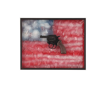 40-19-Broken Glass American Starter Pistol-R-R COLE