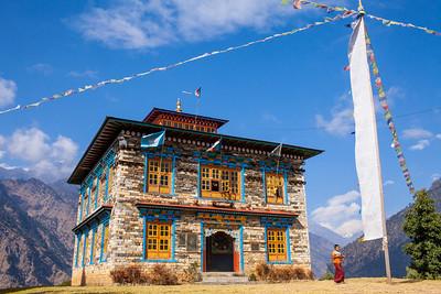 Monestary, Nepal