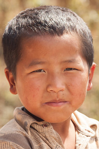 Village boy, Laos
