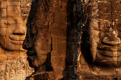 Faces of Bayon, Cambodia