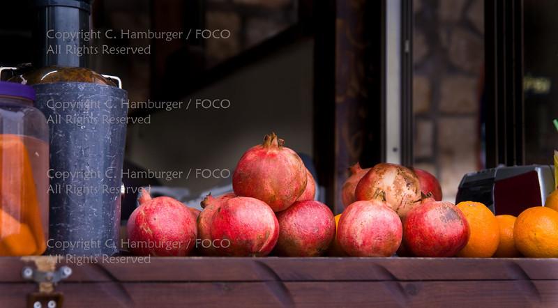Pomegranates and Oranges