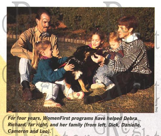 Shot for Baptist Health System's women's health magazine, 1996