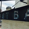 Coastal Taco Flats East Bank Cleveland Faux Distressed Signage Soffit