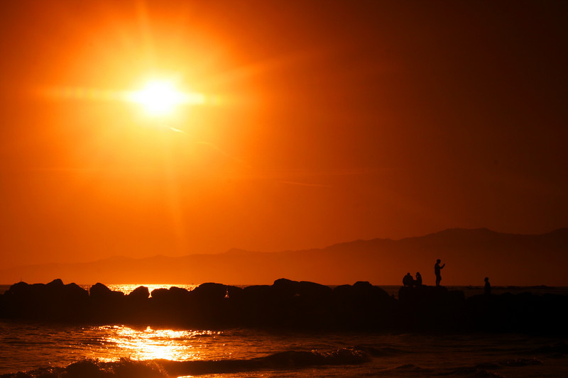 """Santa Monica, CA<br /> To see more, please go to:<br />  <a href=""""http://www.salehphotography.com/Landscapes/Orange"""">http://www.salehphotography.com/Landscapes/Orange</a>"""