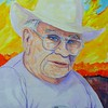 Dad; april; 1992; Yuma; 11x15; gouache; watercolor; july; 2016
