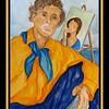 Amedeo; Modigliani; 11x15; watercolor; mar; 2017