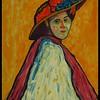 Homage; Gabrielle; Münter; Portrait; Marianne; von; Werefkin; 1909