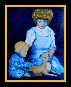Janet; Burnett; Worthington; Edward; 1910.; 16x20; oil; canvas; jan; 2017