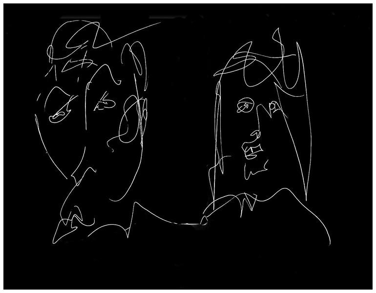 Couple in Knightsbridge 1987