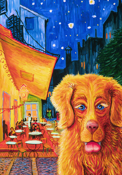 """Vince Got a Biscuit? Oil on canvas 24"""" x 18"""" Available"""