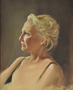 Donna Oil on Canvas 20X16