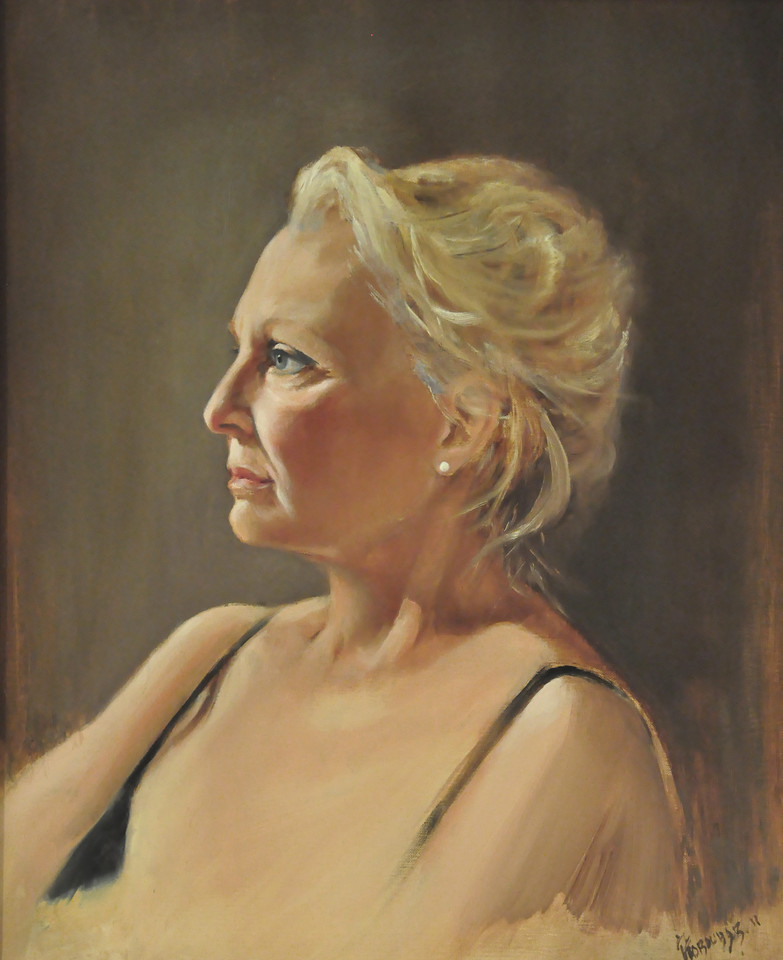 Donna Oil on Canvas 20X16