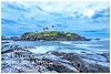 Nubble Lighthouse located in York Maine