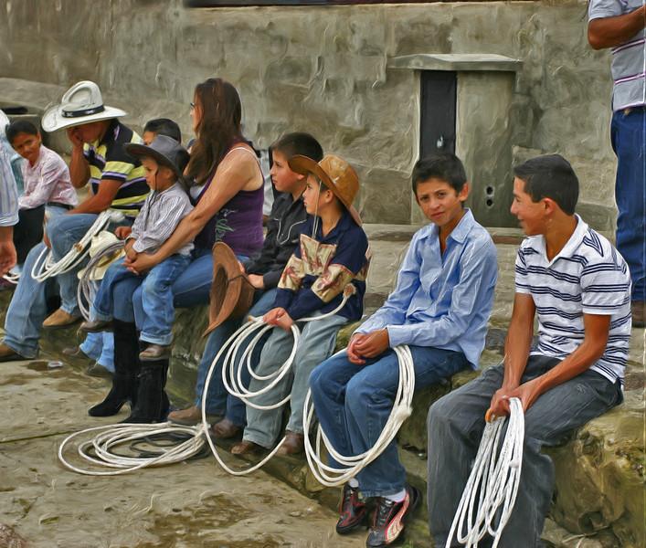 Waiting Cowboys